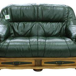 Clean Leather Sofa With Damp Cloth Futon Style Sleeper Belgium Storage Drawer Genuine Italian 2 Seater ...