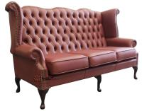 High Back Chesterfield Sofa Sold High Back Grand Waxed ...