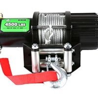 Viper Winch 8500lb Steel Cable And Hawse Handheld And