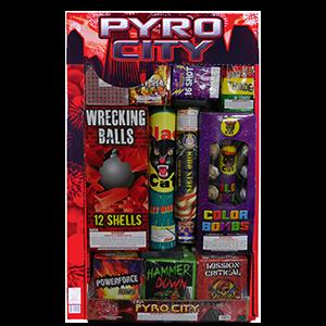 Pyro City  Assortments  Winco Fireworks