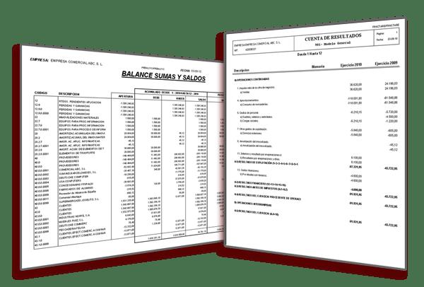 Libre definición de balances de activo y pasivo, cuentas