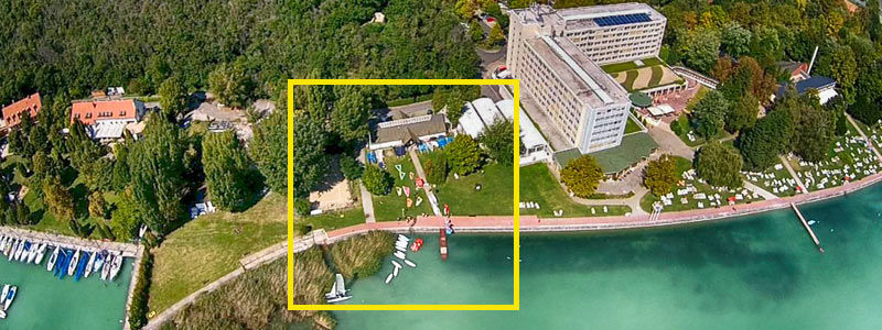 Wassersportzentrum am Balaton