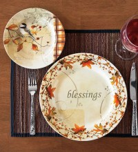 Autumn Dessert Plates, Set of 4 | Wind and Weather