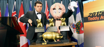 The TEDDY award ceremony in Ottawa this week: Ontario wins!