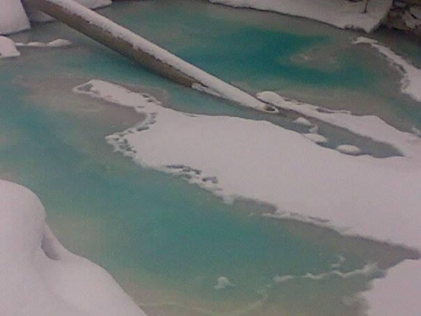 Mehtanol spill on construction site [Photo: MCSEA]