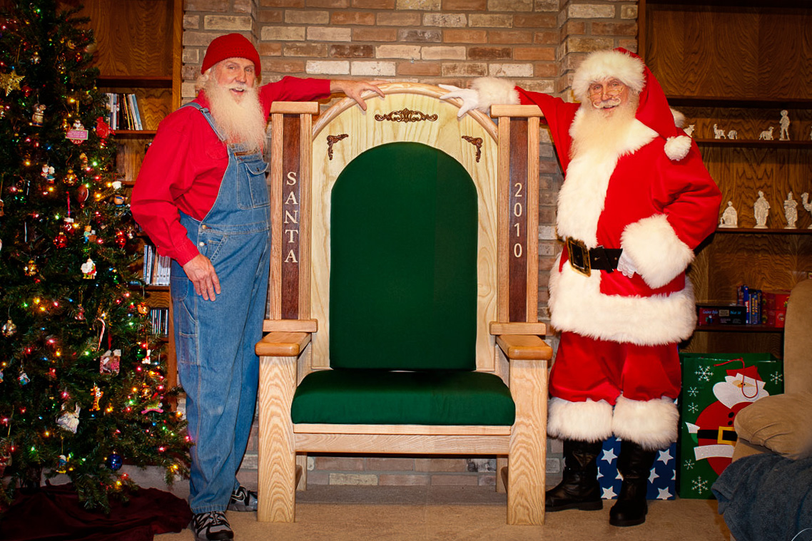 sit up chair for babies lazy boy leather chairs recliners santa jim and his brother – windcrest