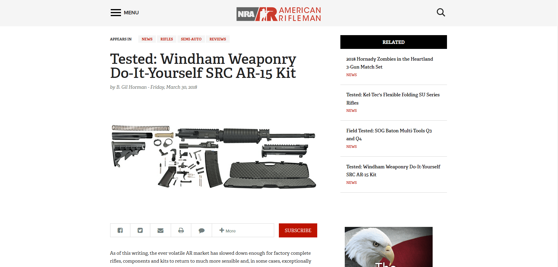 Tested windham weaponry do it yourself src ar 15 kit windham view larger image solutioingenieria Choice Image