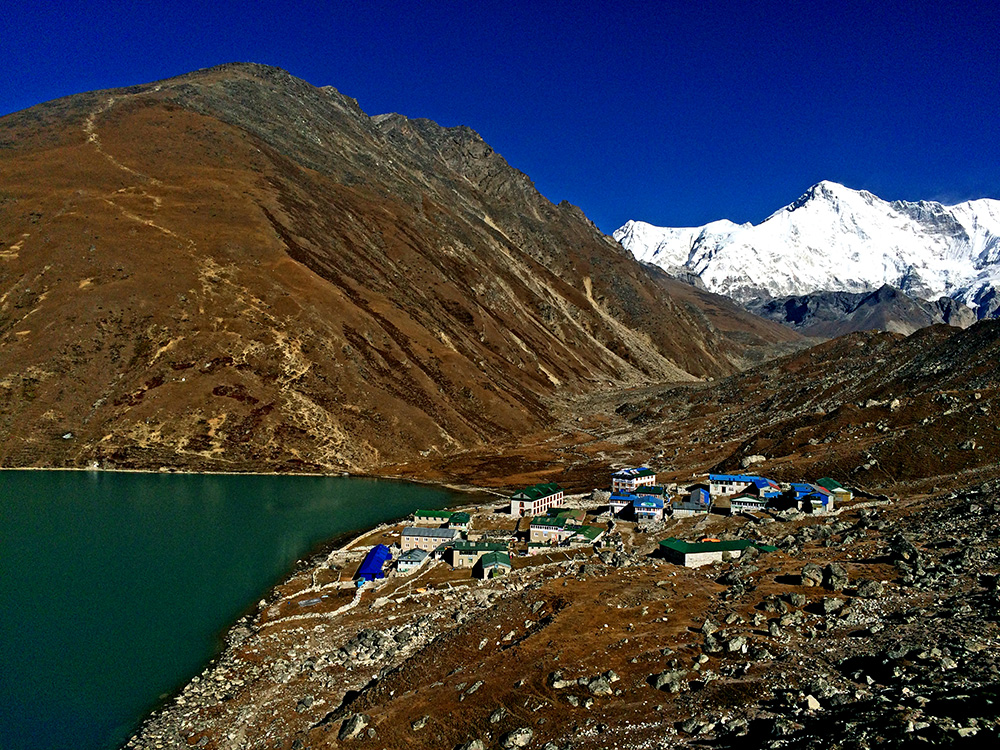 Everest Base Camp Trek with Gokyo Ri Gokyo Lakes  Chola