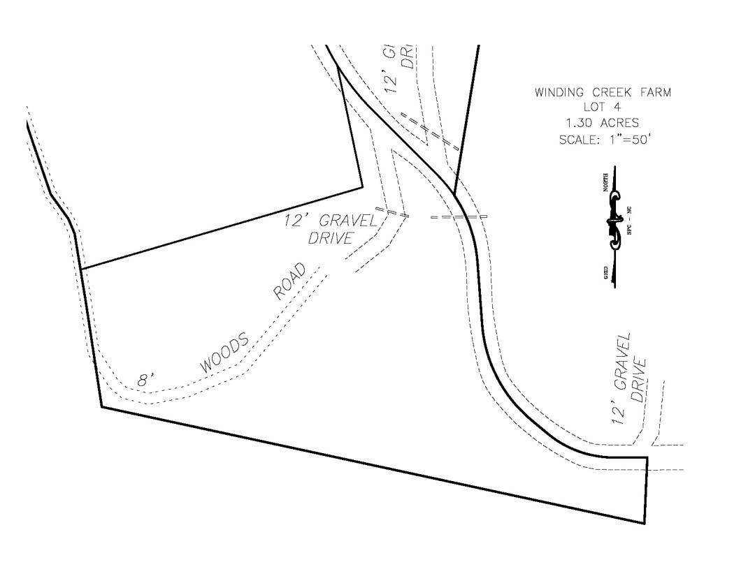 winding creek farm lot 4 survey