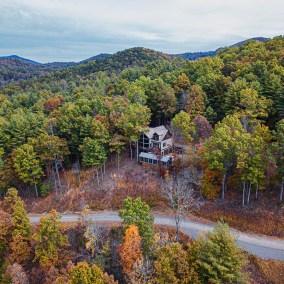 Winding Creek Farm aerial shot