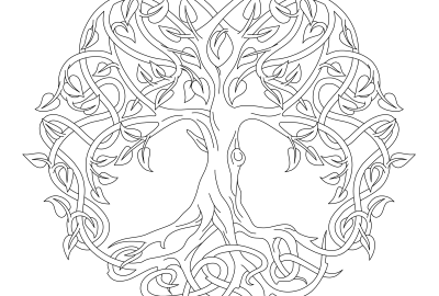 tree of life coloring pages Tree of life coloring page Archives · Windingpathsart.com tree of life coloring pages