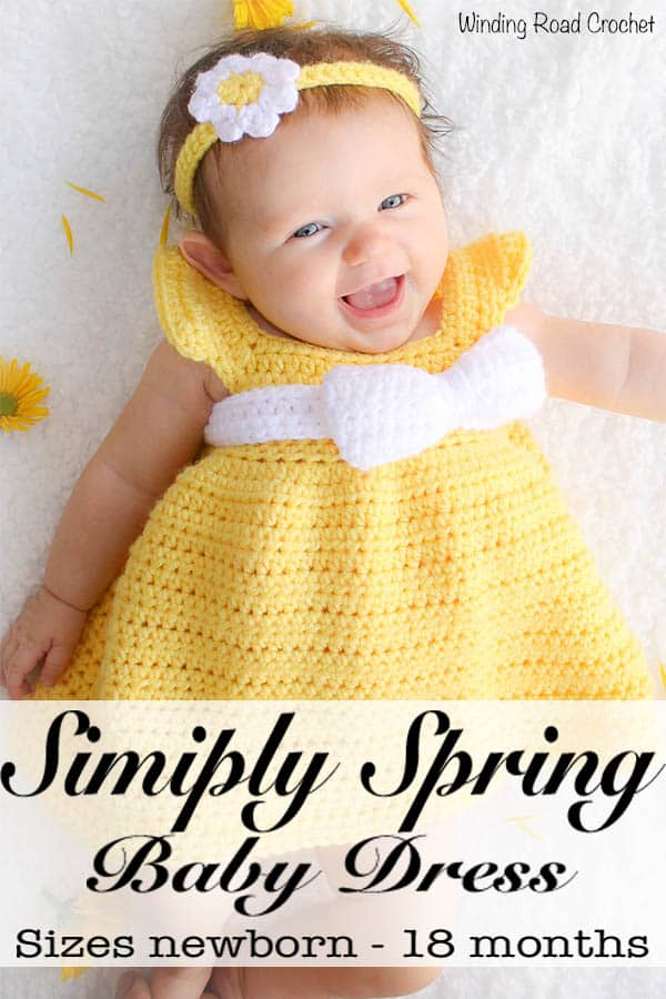 69a4acf860 This free baby dress crochet pattern is designed to be quick and simple to  create for