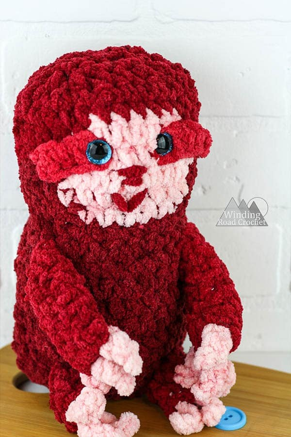 Make an adorable crochet sloth with this free crochet pattern and photo tutorial.
