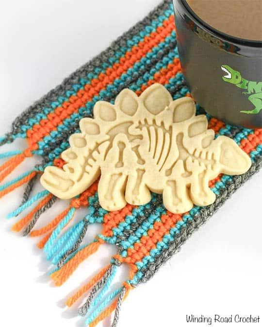Mug Rug Free Crochet Pattern And Printable Winding Road