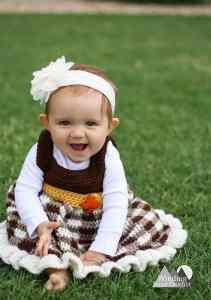 simply fall baby dress
