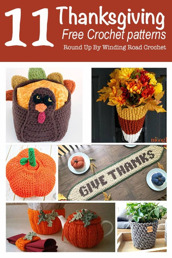 442d30c94a00d Thanksgiving free crochet pattern round up. Thanksgiving is a fun time to  share our craft