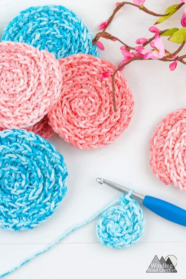 picture about Printable Pattern identify How In the direction of Crochet Confront Scrubbies: No cost Habit Toward Delight in