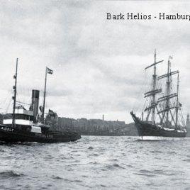 Postkarte HELIOS Hamburg