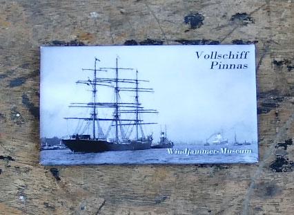 Vollschiff Pinnas, Hamburg