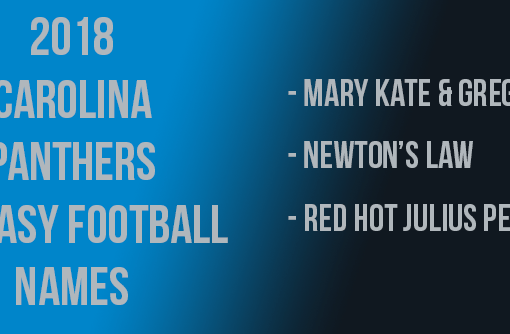 Carolina Panthers Fantasy Football Names