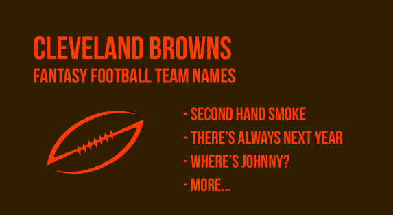 cleveland browns fantasy football names