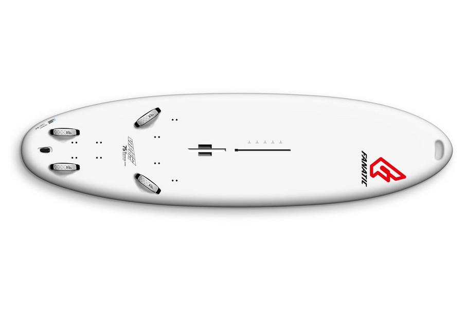 Test planche à voile Fanatic Viper School soft deck white