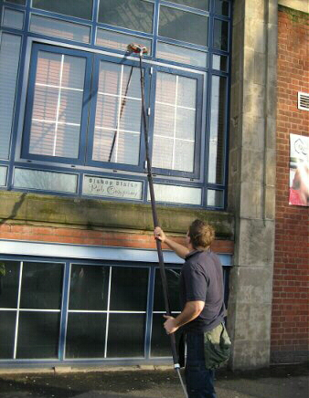 Effective window cleaning