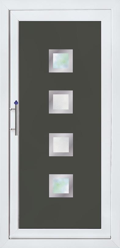 Modern Collection PVCu Doors