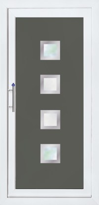 Modern Collection PVCu Doors