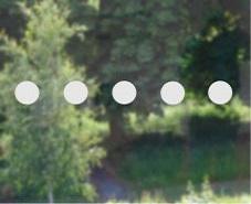 frosted glass dot manifestations