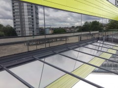 Stainless Steel 25 external window film