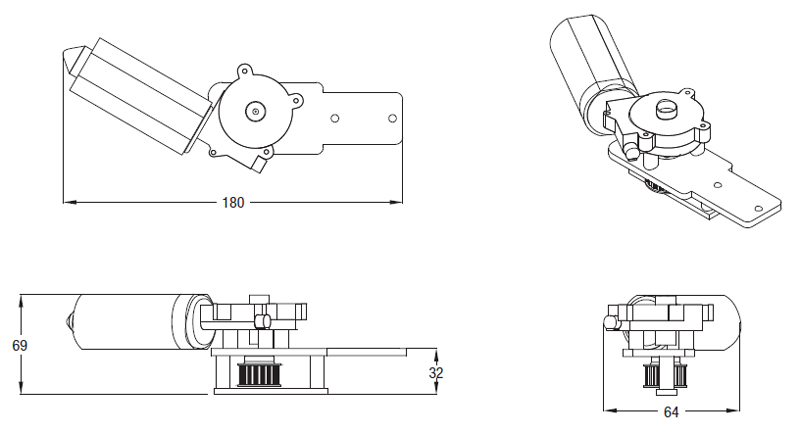 Slide 200 Chiaroscuro Acquista Motore per Persiane