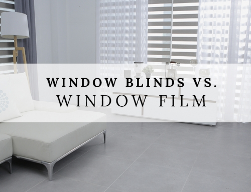Window Blinds vs. Window Film