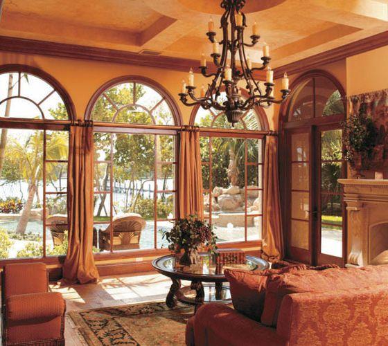wood windows patio doors