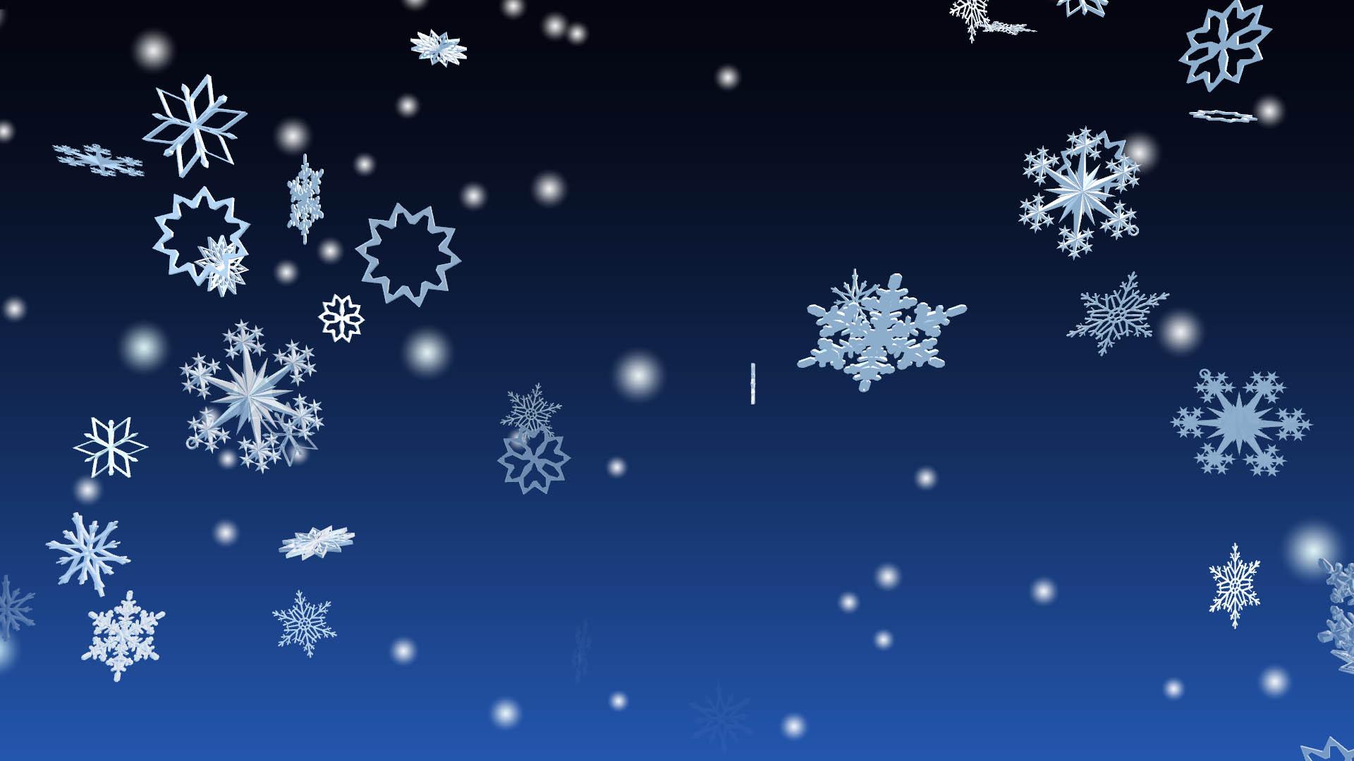 Free Animated Snow Fall Wallpaper Windows 10 3d Snowfall Screensaver 3d Winter Snowflakes