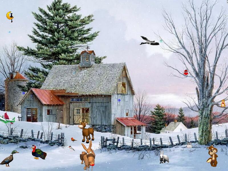 Falling Snow Live Wallpaper For Pc Windows 10 Winter Screensaver Winter Fantasy Screensaver