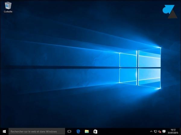 tutoriel installation Windows 10