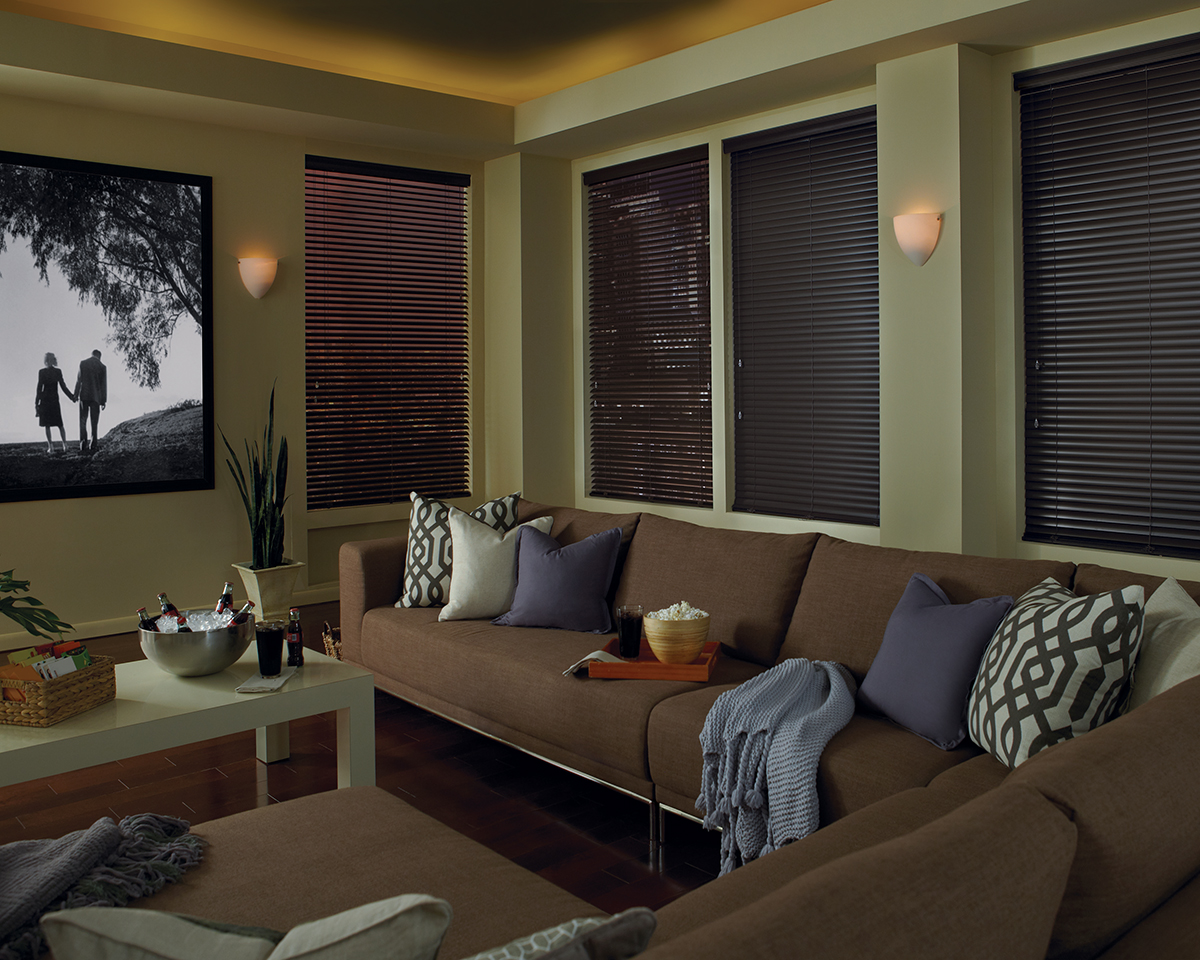Window Coverings for Media Rooms in Franklin MI Area