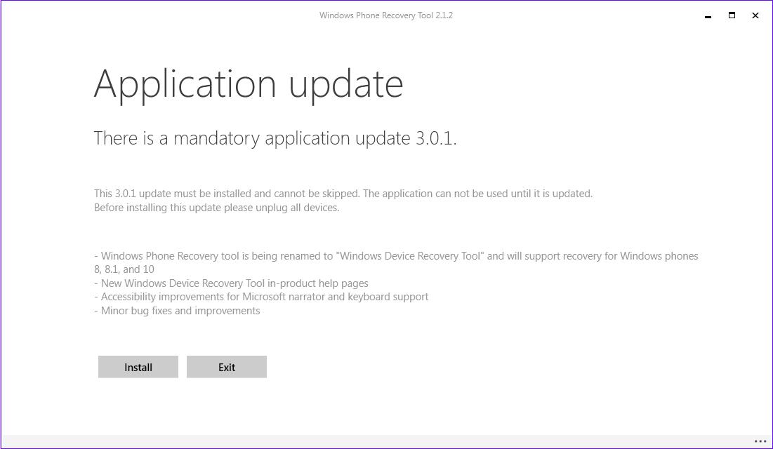 Windows Device Recovery Tool si aggiorna alla versione 3.0