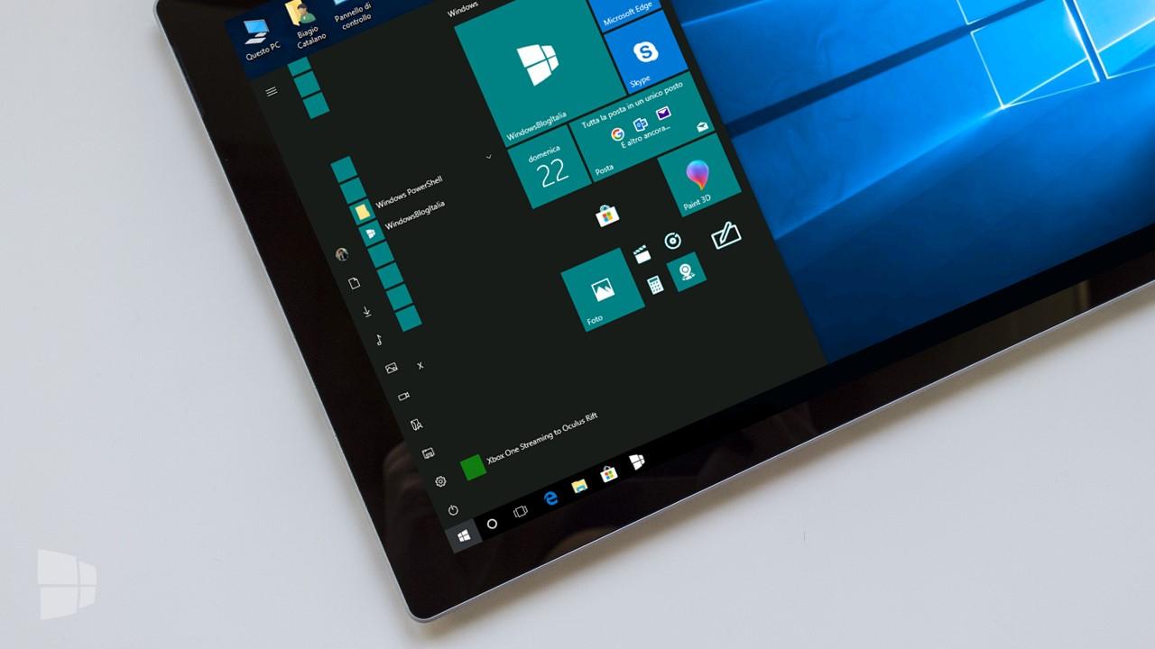 fix problemi Windows 10 Fall Creators Update