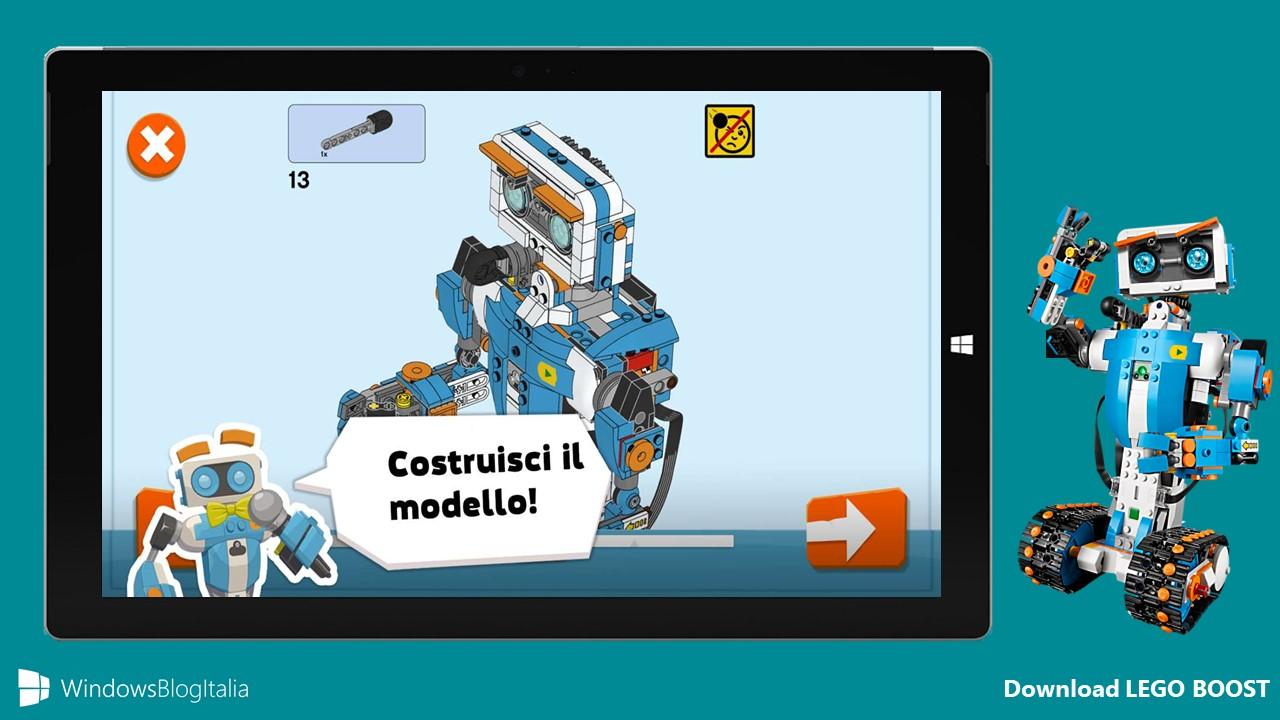 Download LEGO BOOST app Windows 10