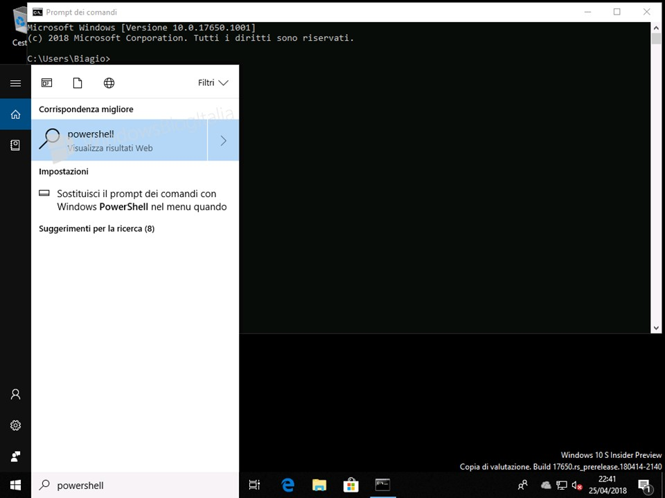 Download, installazione e ultime novità di Windows 10 Lean Build 17650