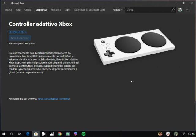 Nuove sezioni Microsoft Store