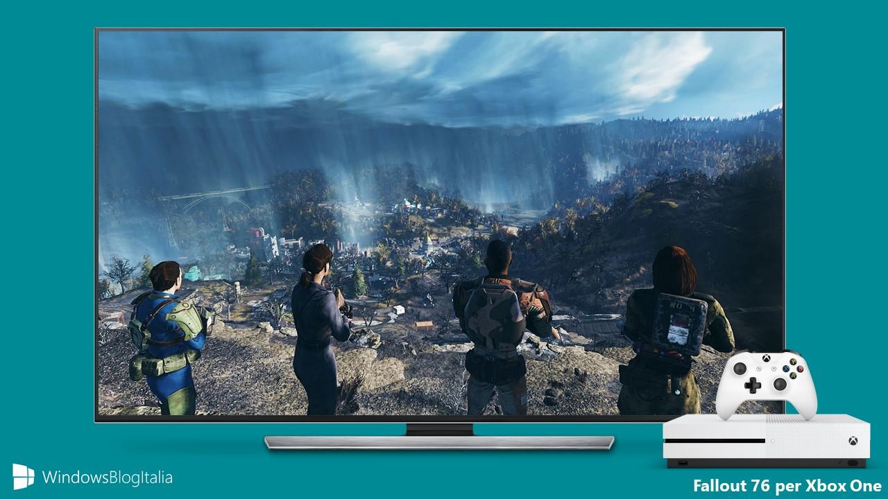 Disponibile al preordine Fallout 76 per Xbox One