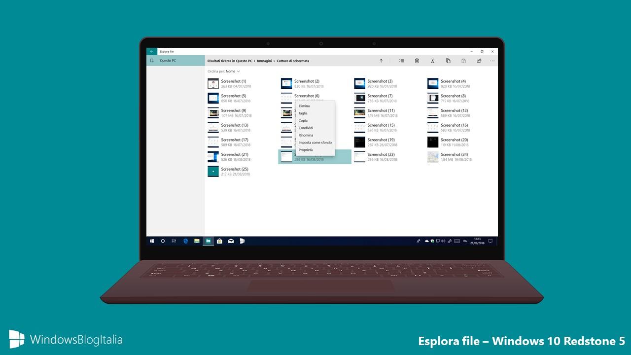 Microsoft non ha dimenticato lEsplora file UWP di Windows