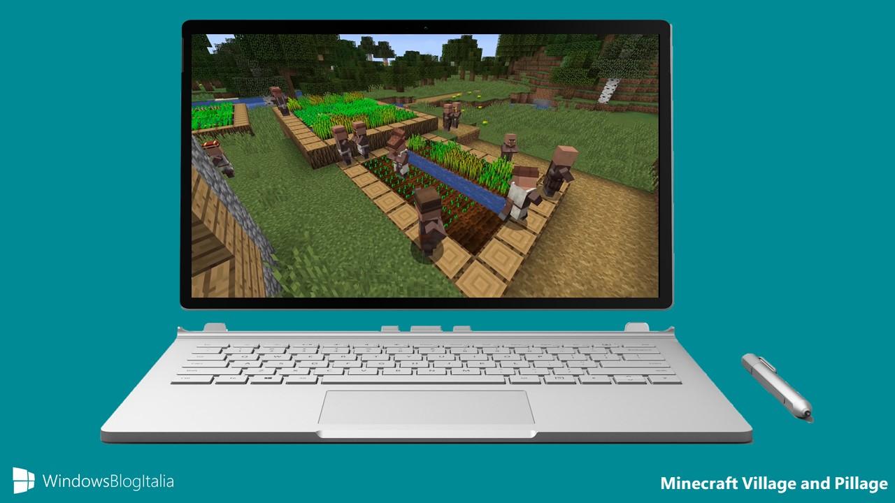 Minecraft Village and Pillage Update e un nuovo gioco in arrivo nel 2019