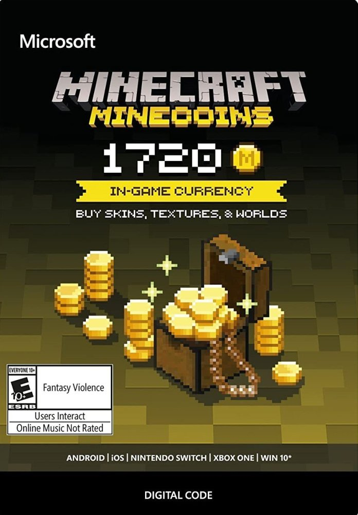 Minecraft Minecoin Gift Card Reco
