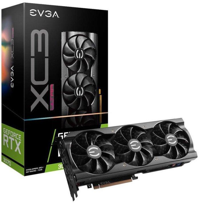 EVGA GeForce RTX 3070 XC3 ULTRA GAMING