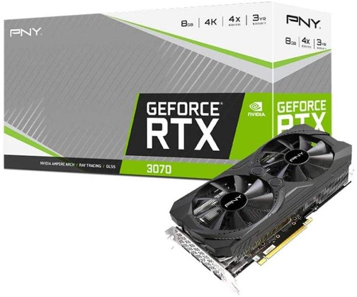 PNY GeForce RTX 3070 8GB XLR8