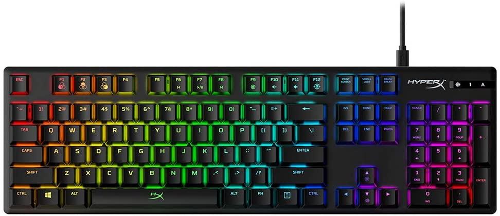 HyperX Alloy Origins Red Mechanical Keyboard